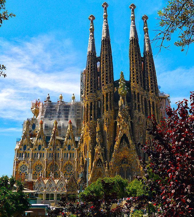 Billet parc d attractions tibidabo barcelone - Billet coupe file sagrada familia ...