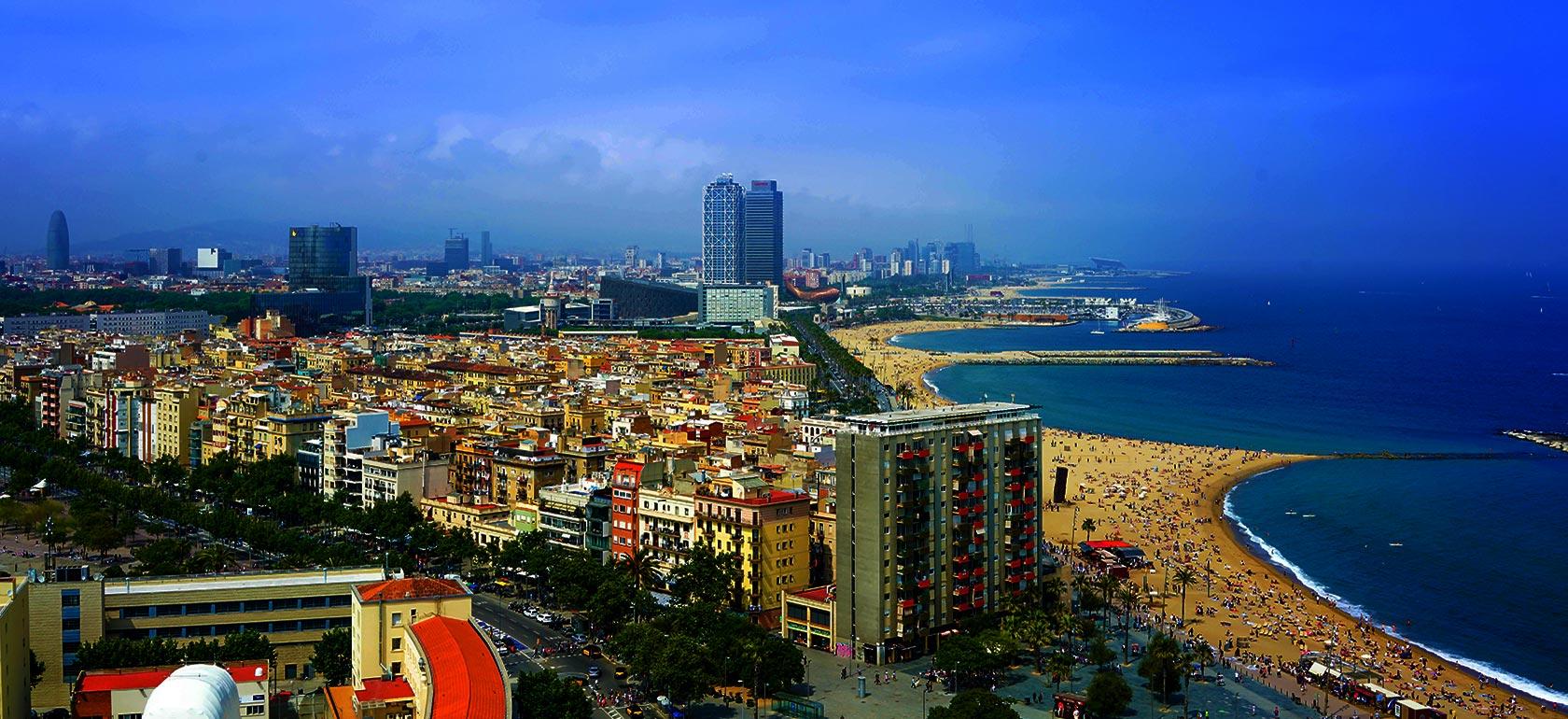 Carte Barcelone En Option Sagrada Park Gell