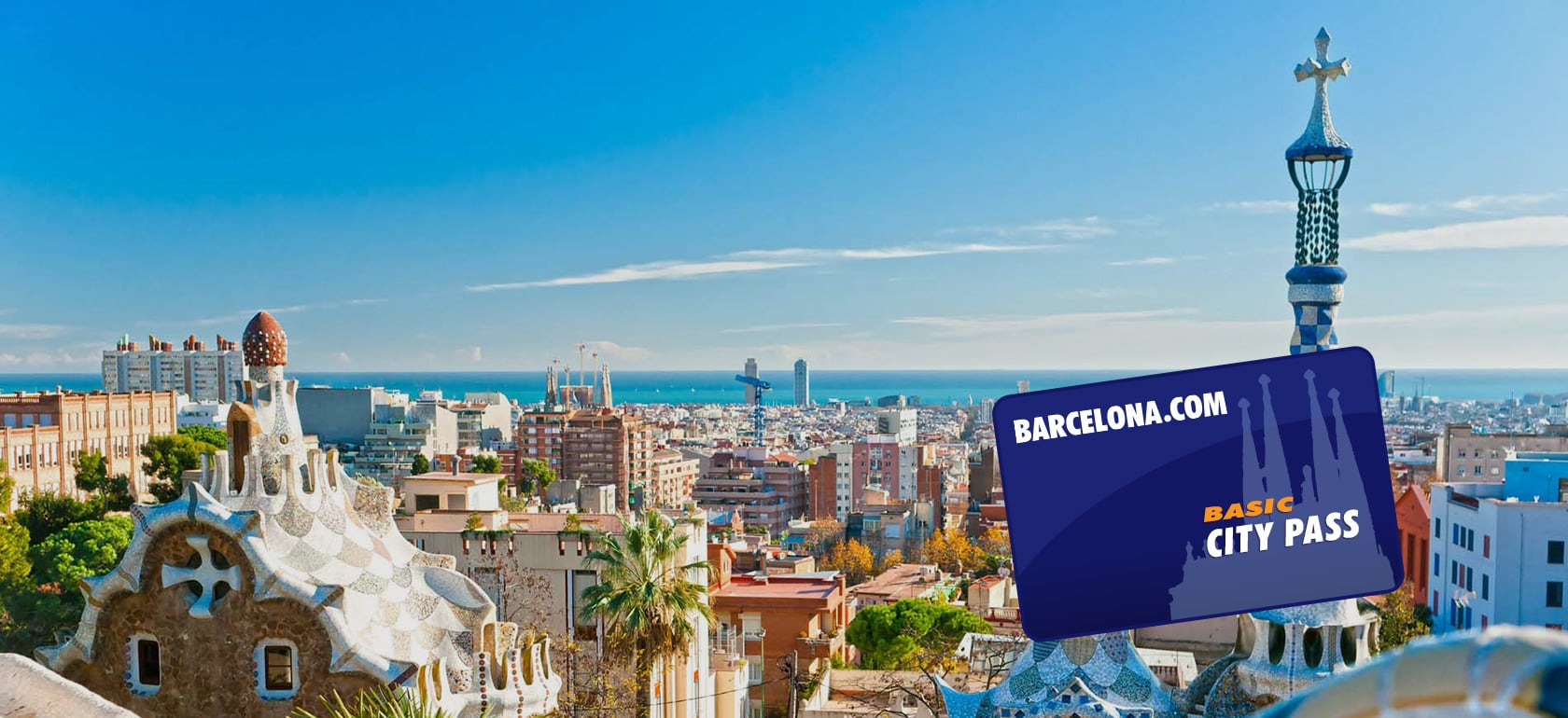 Barcelona City Pass - Basic