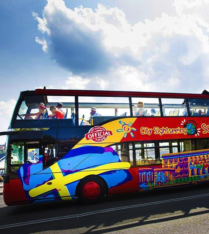 24h Bus Hop On – Hop Off Sightseeing