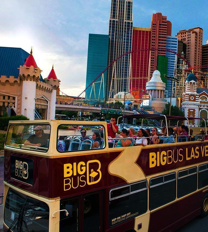 Las Vegas Hop on Hop off Bus