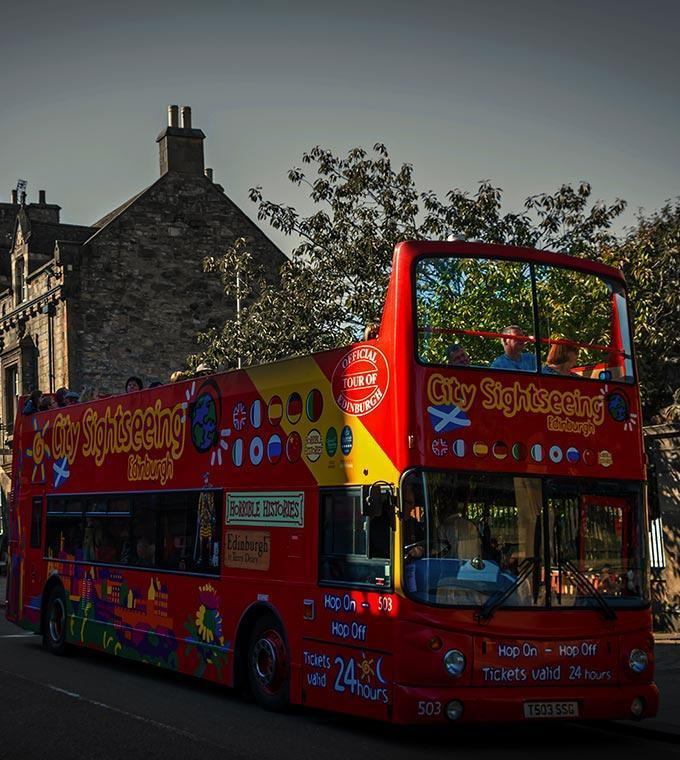 Edinburgh Hop-on-Hop-off Bus