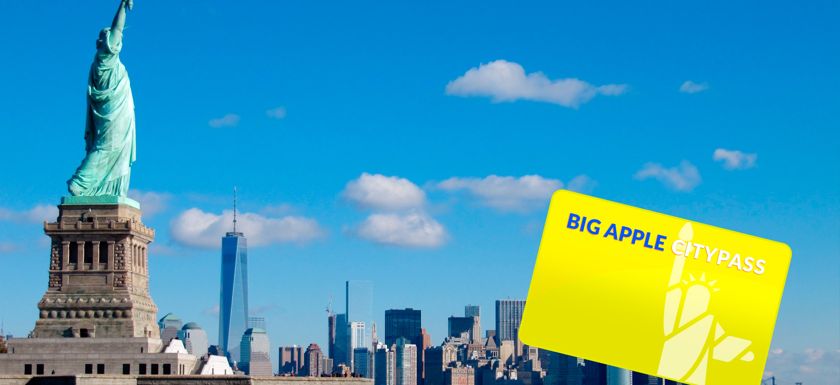 Big Apple City Pass (incluindo transferência de aeroporto)