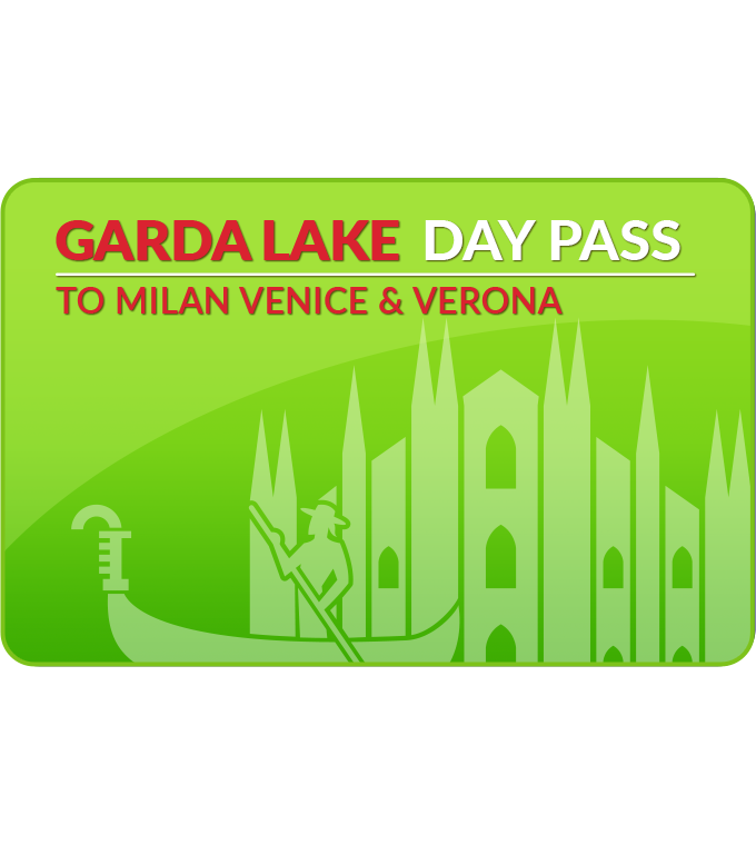 Garda Lake Day Pass to Milan/Venice/Verona