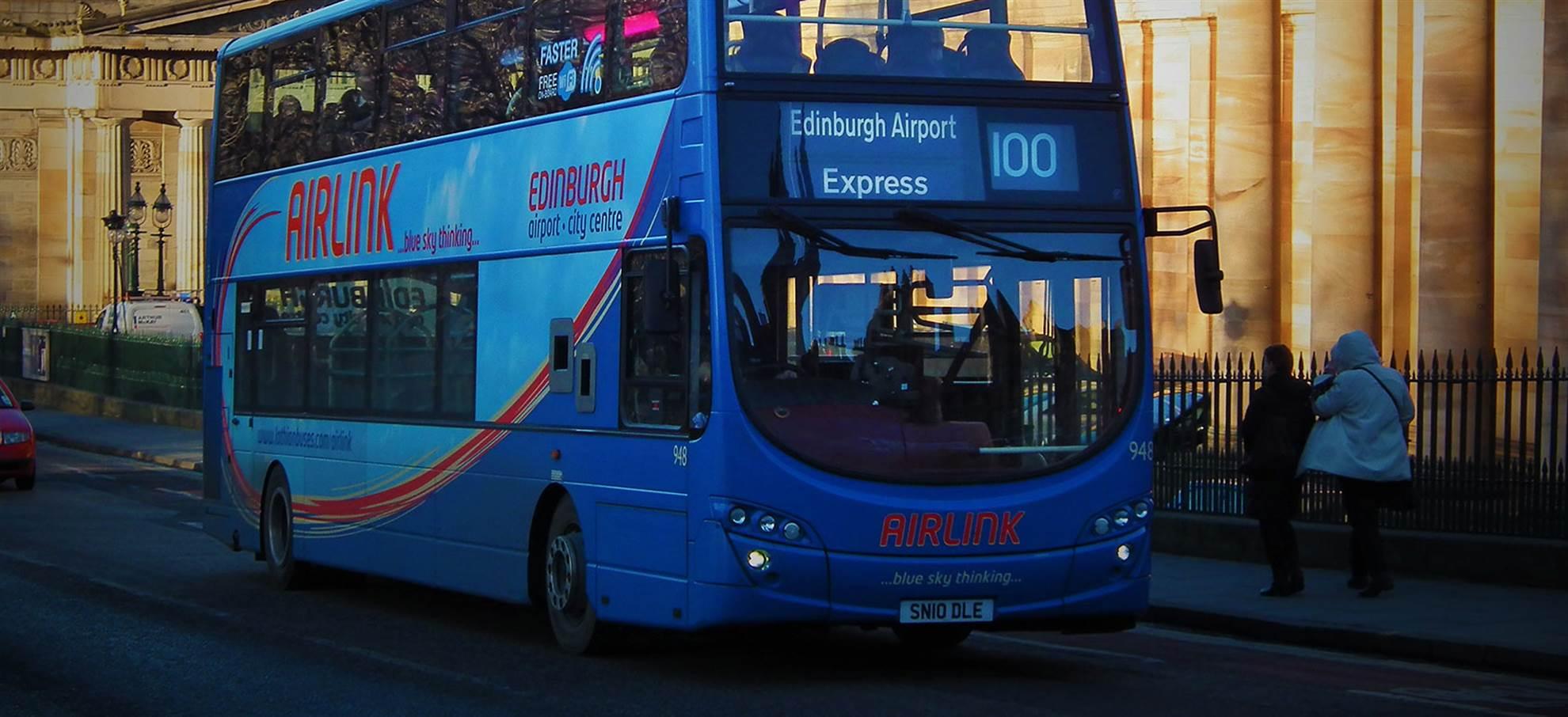 Edinburgh Bus Transfer - Airport to City Centre