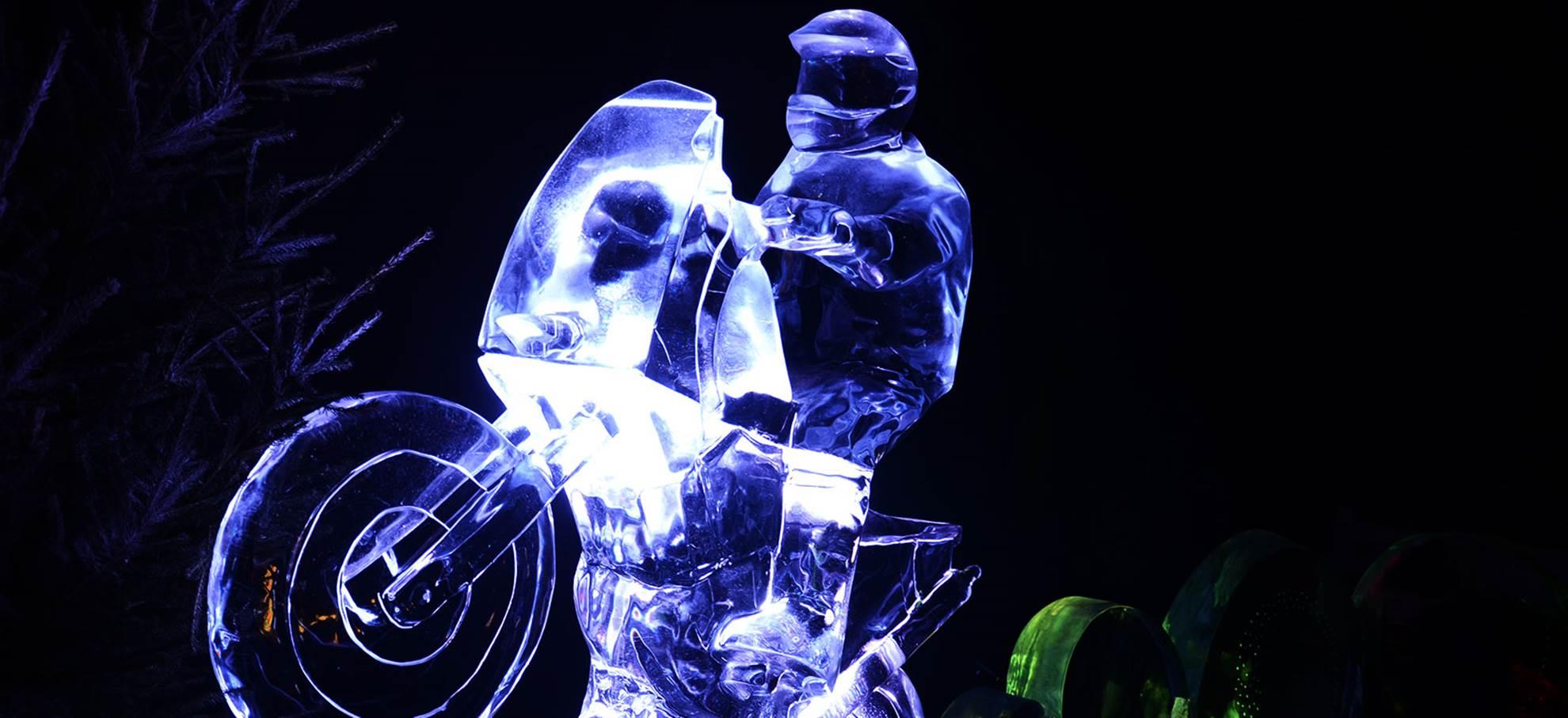 Festival Holandês de Esculturas de Gelo