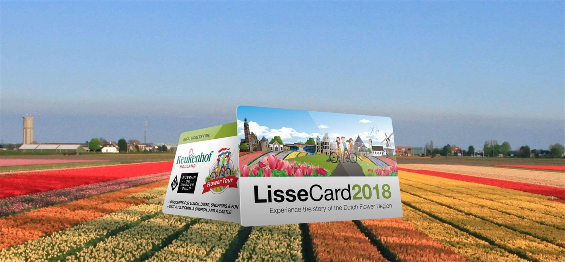 LisseCard inklusive Keukenhof