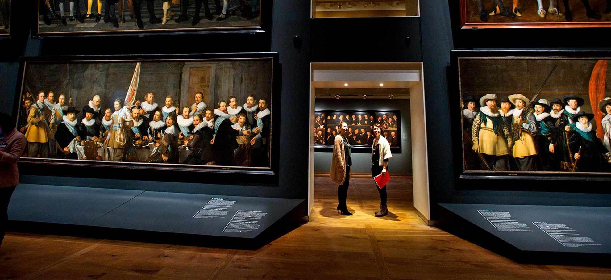 Galleria dei ritratti del periodo d'oro