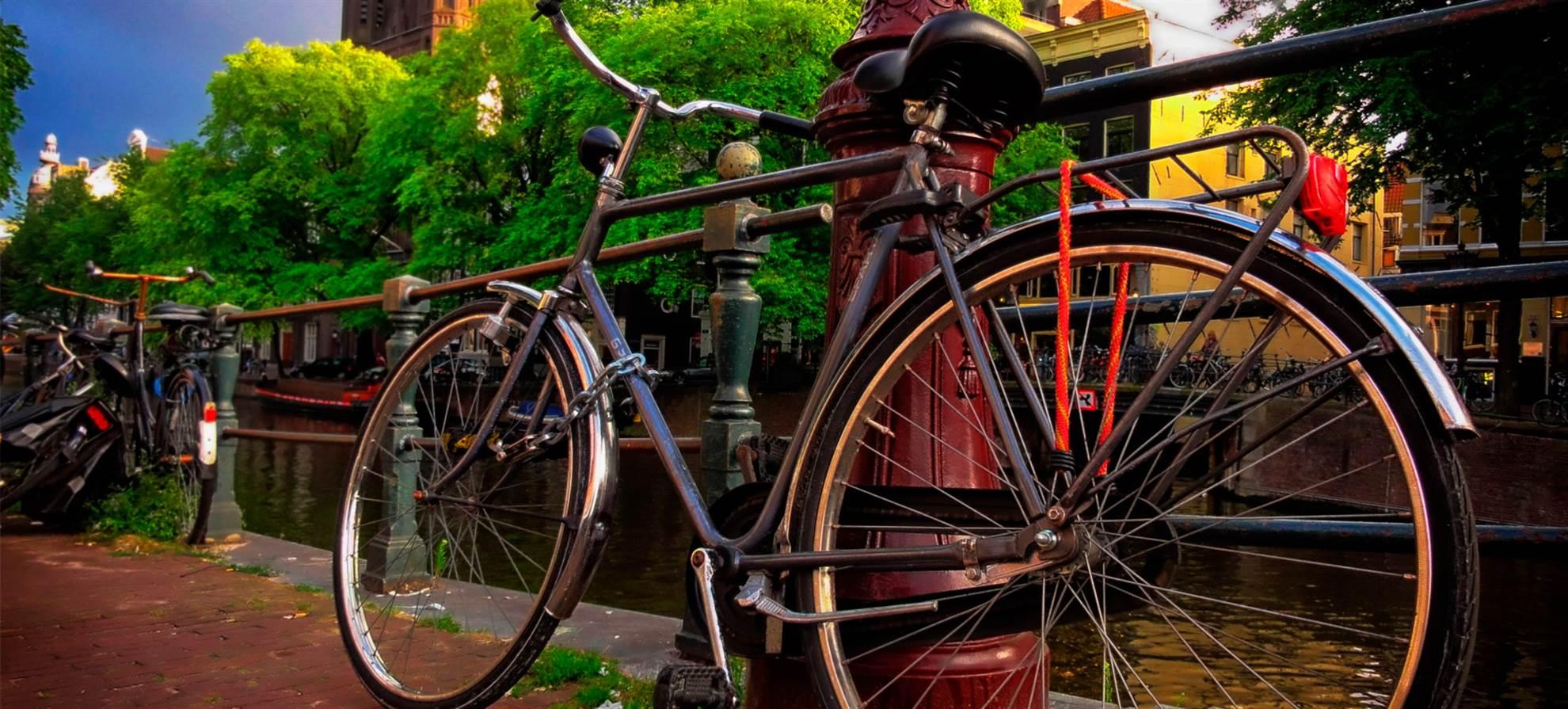 Велосипедный тур по городу
