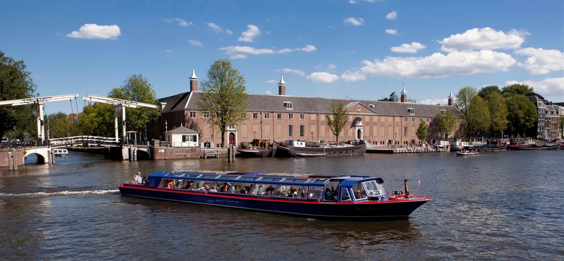 Crociera sui Canali Piazza del museo (a sud della città)