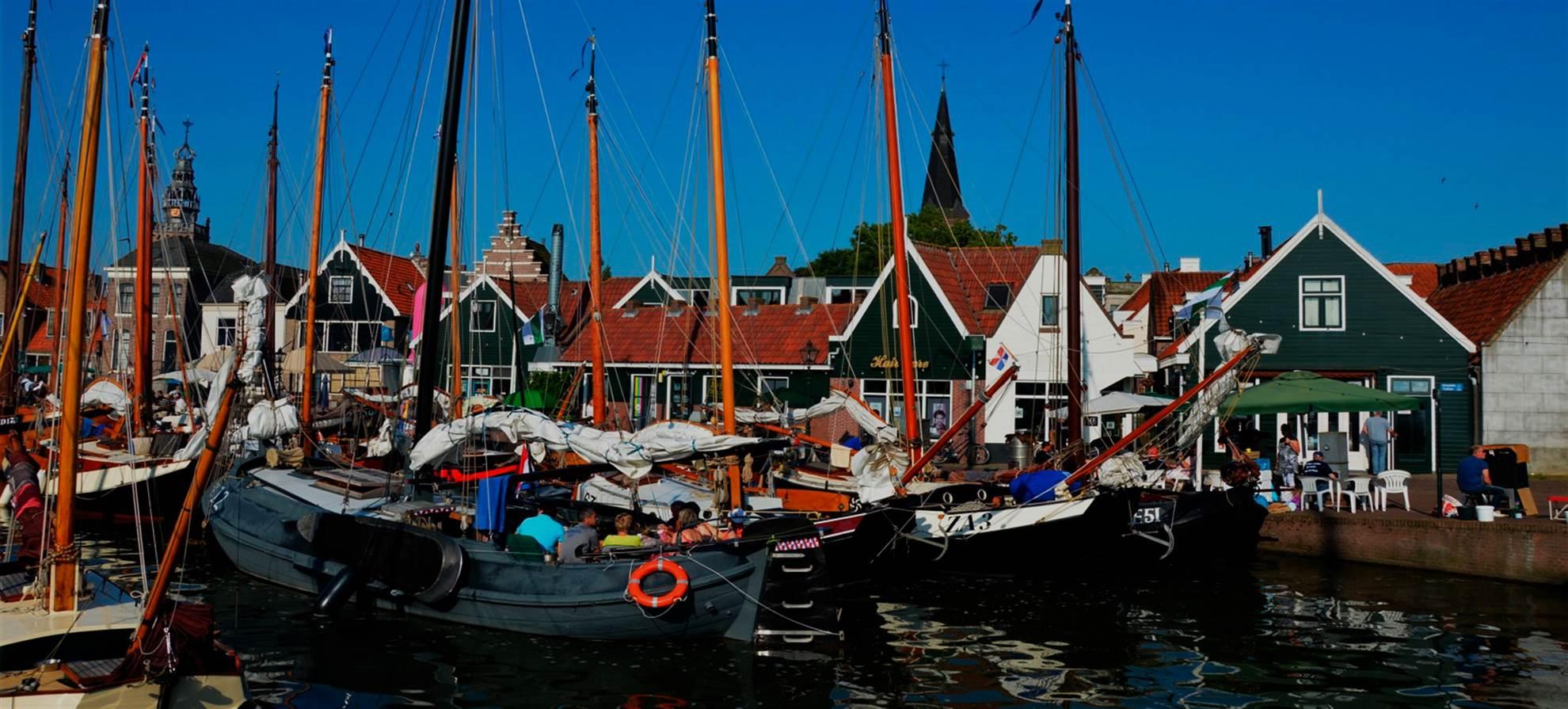 Volendam, Marken y la Zaanse Schans