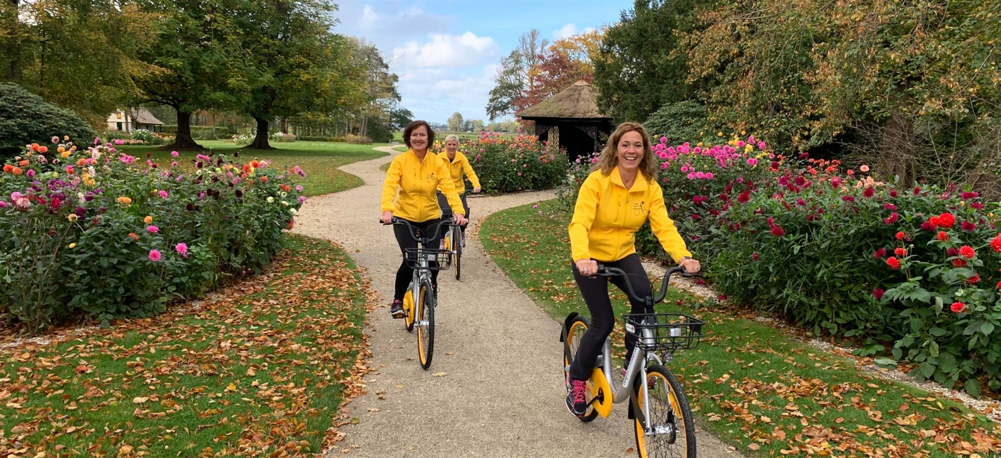 Balade guidée en vélo autour de Keukenhof