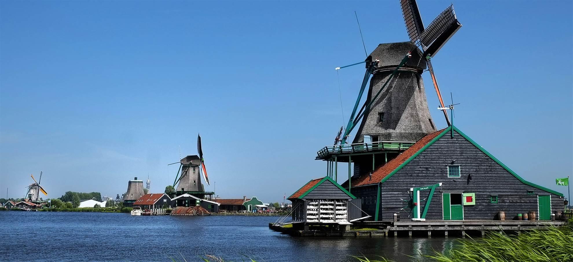 Excursão de um dia ao Keukenhof, Volendam e Moinhos de Vento