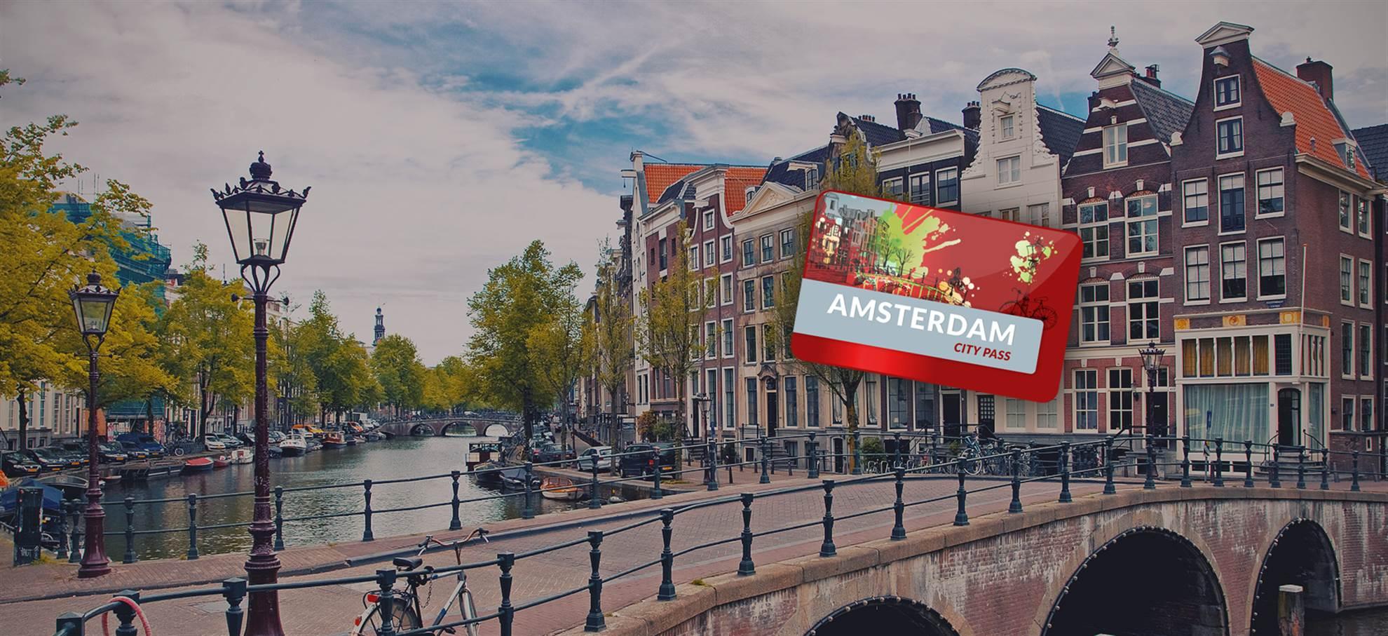 Officiële Amsterdam City Pass