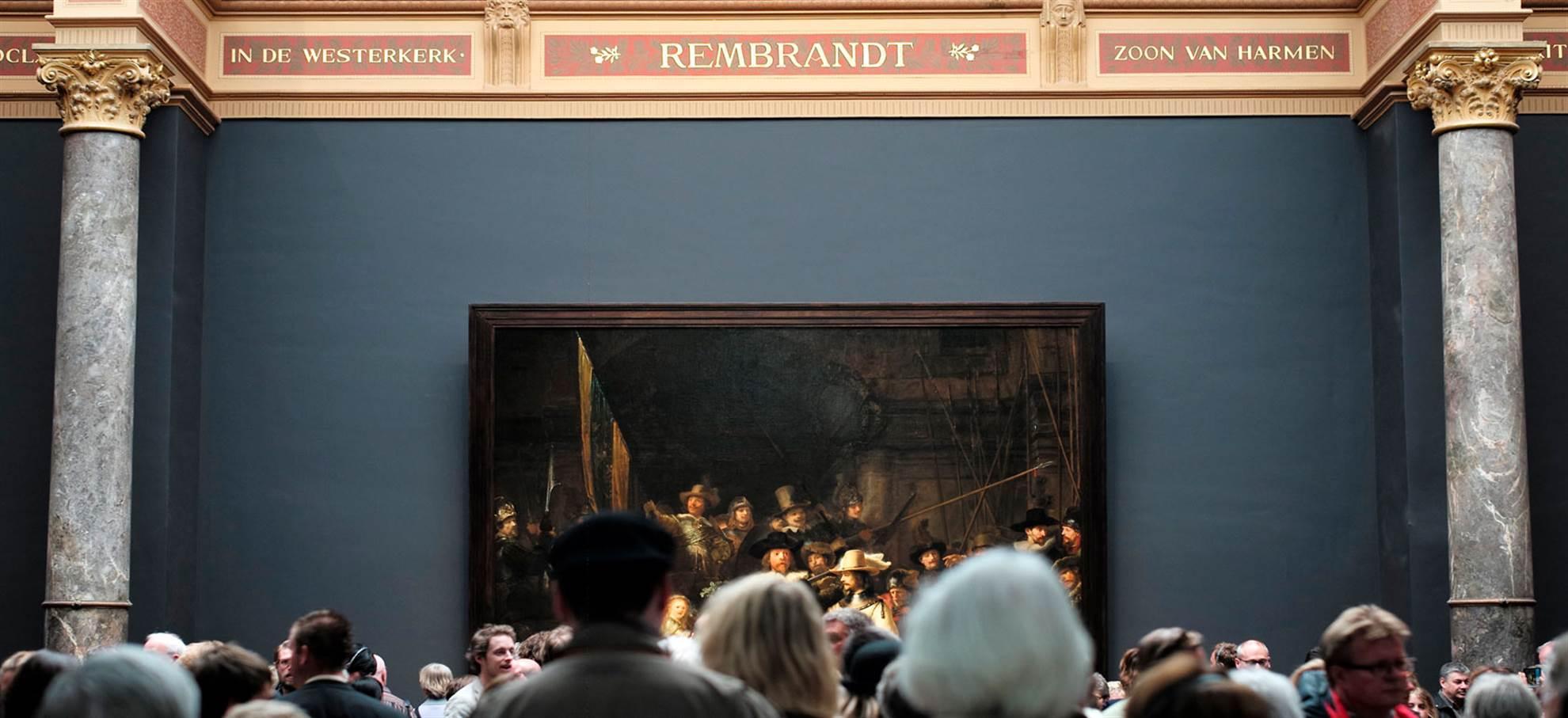 Rijksmuseum + Ausstellung Der späte Rembrandt