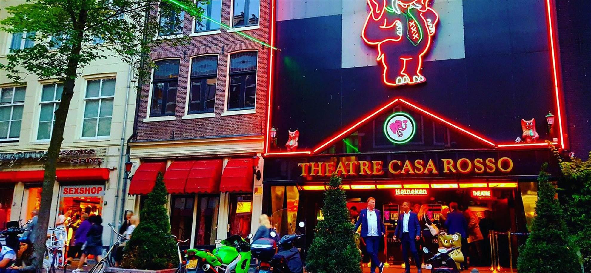 Эротический театр Casa Rosso