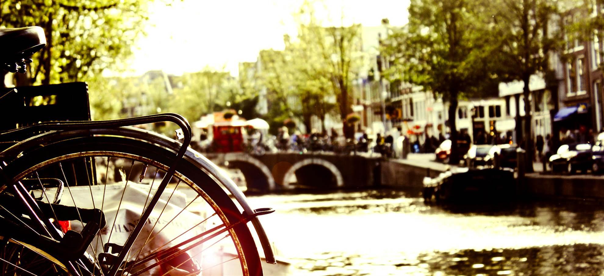 Paseo en bicicleta - la tarde (guía español)