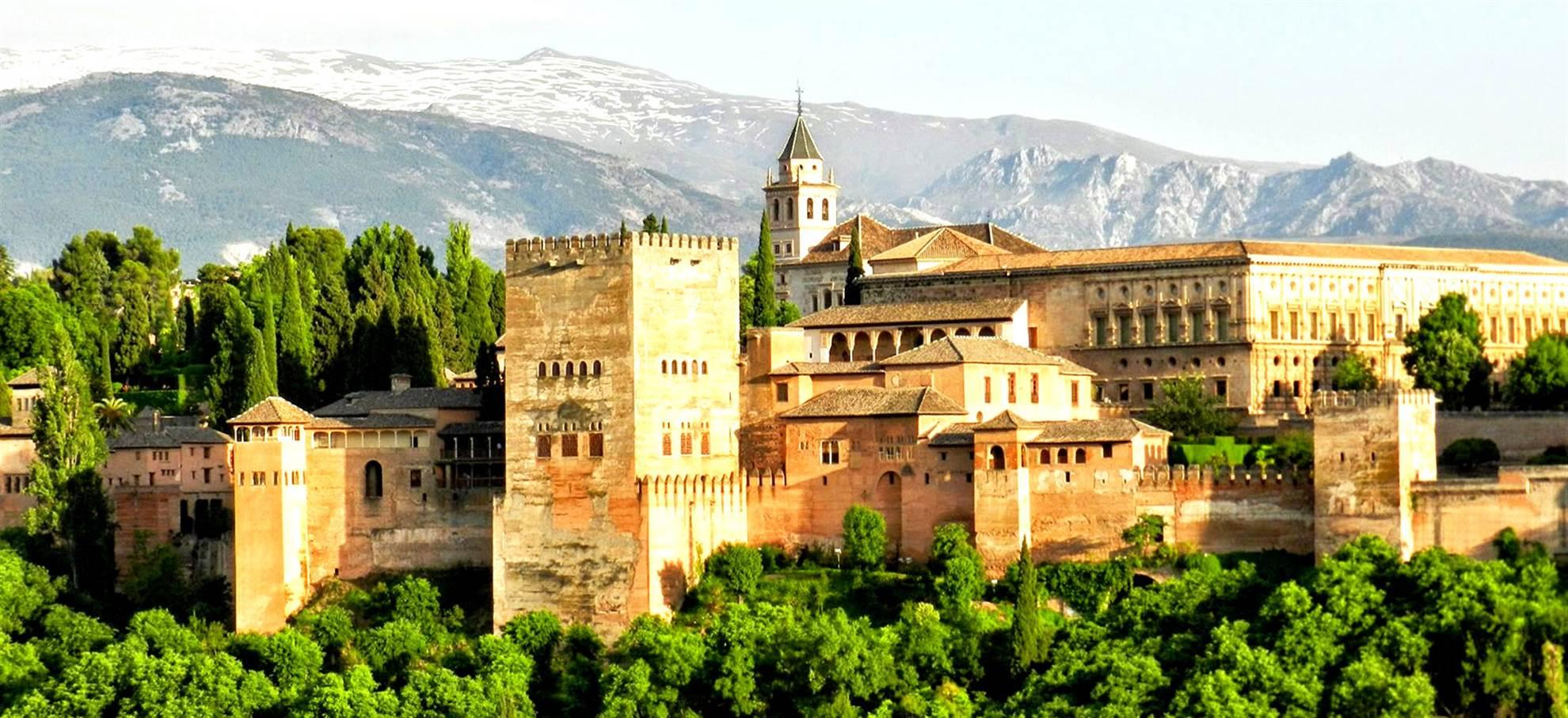Alhambra Karte + Parkplatz