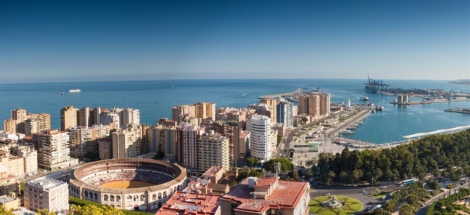 Malaga highlights fietstour
