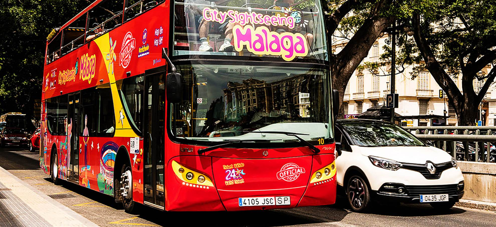 Málaga Hop on Hop off Bus