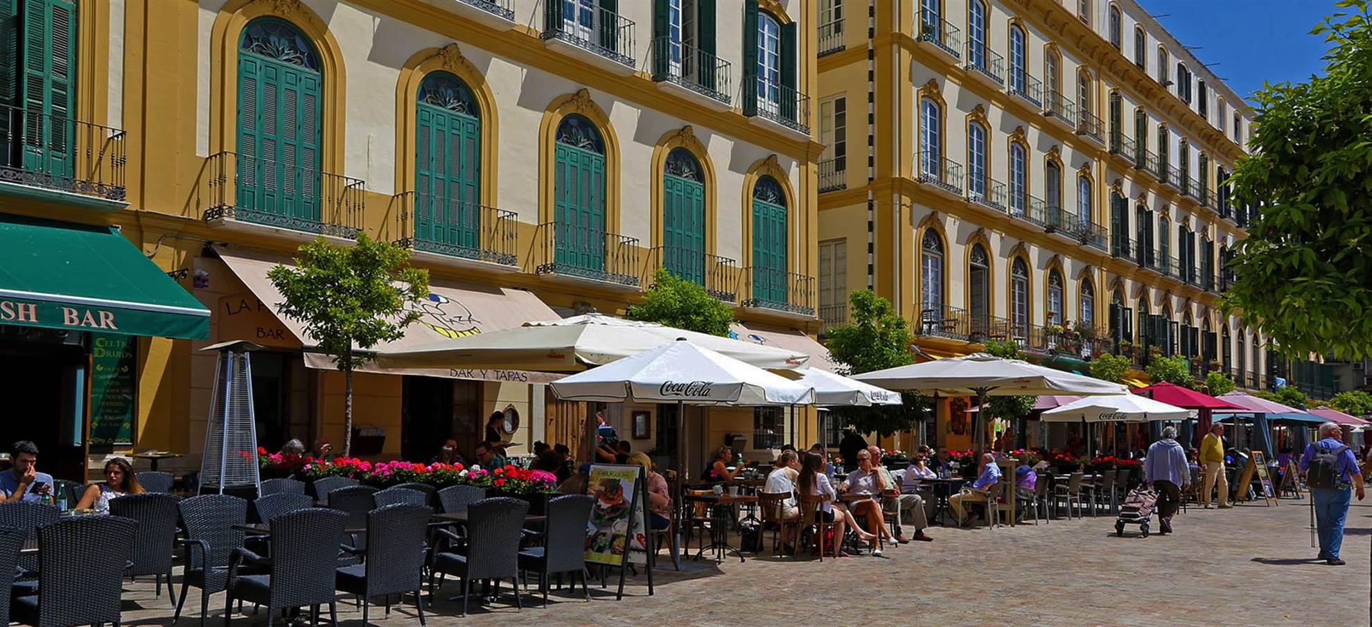 Tour in bici per Malaga e Tapas