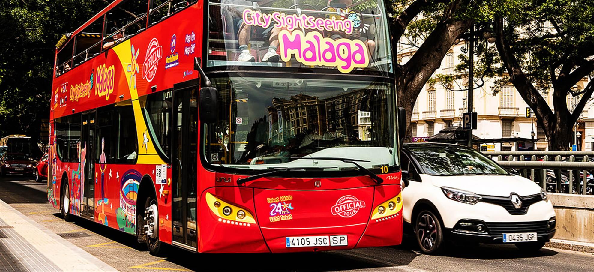 Ônibus Hop on Hop off em Malaga