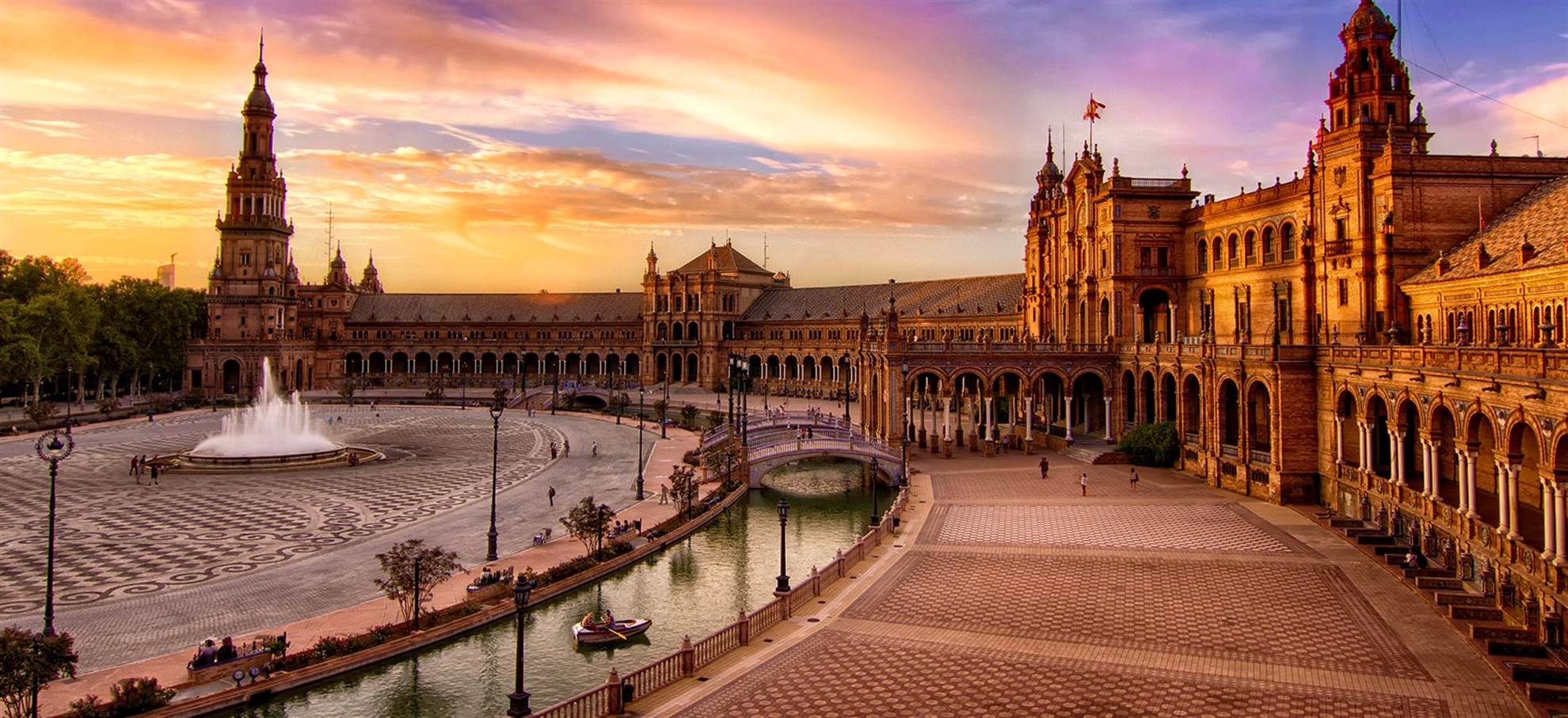 Super Sevilla Kombi! Alcazar, Kathedrale von Sevilla und Sevilla Hop-On-/Hop-Off-Bus