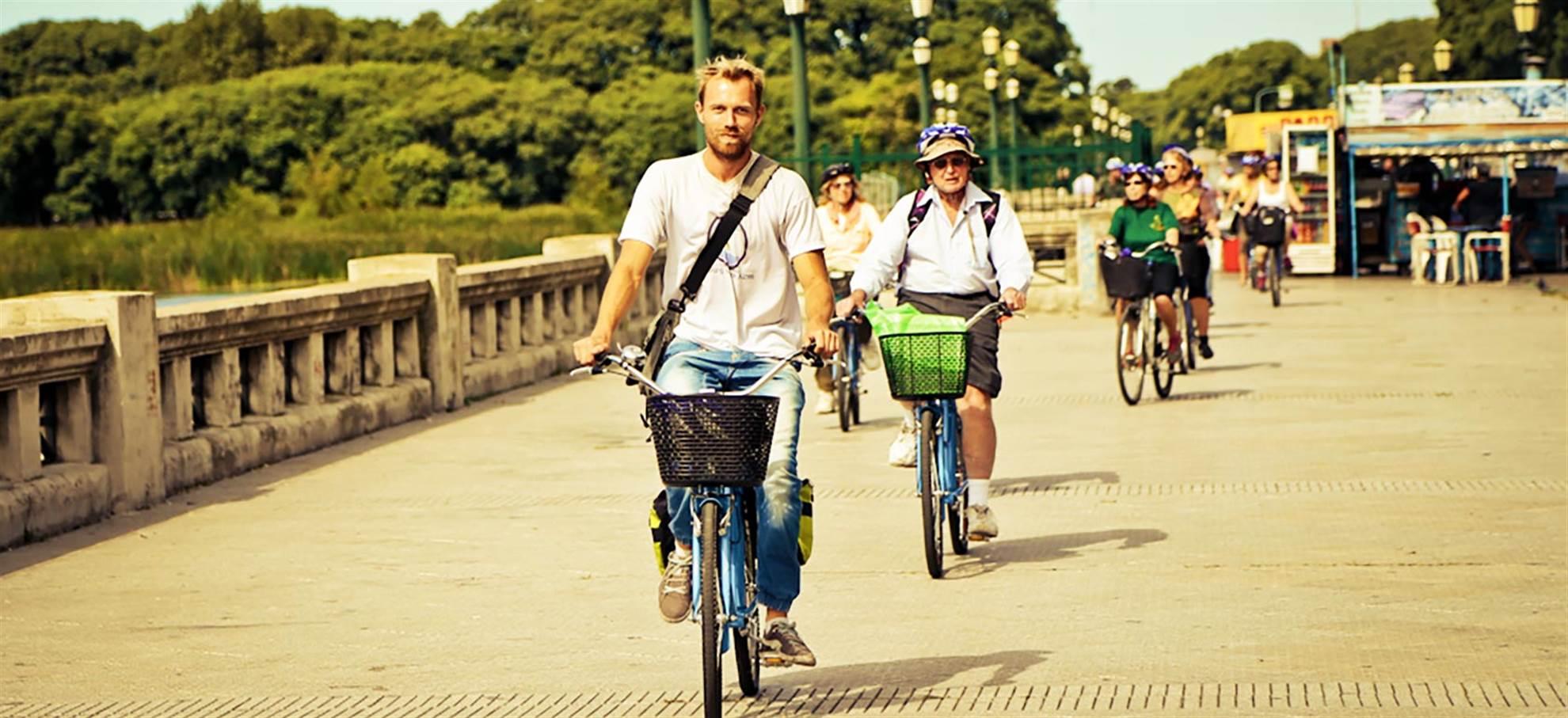 Fahrradtour durch die Dörfer um Sevilla