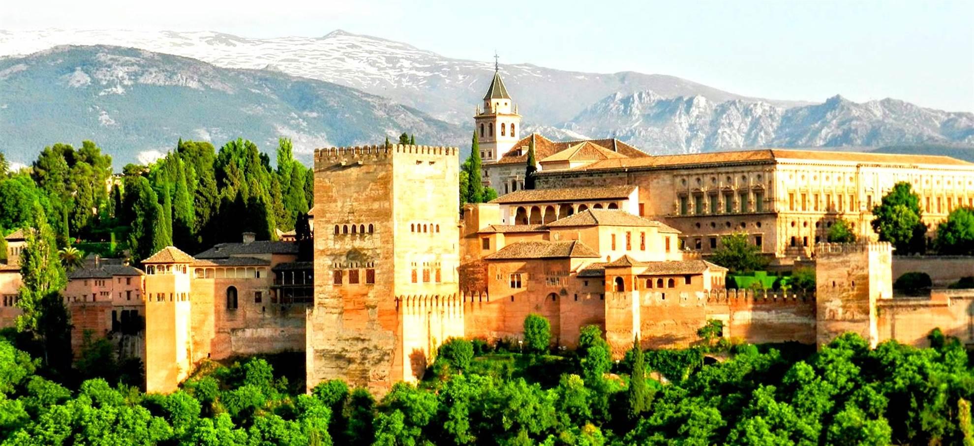 Granada vanaf Sevilla hele dag