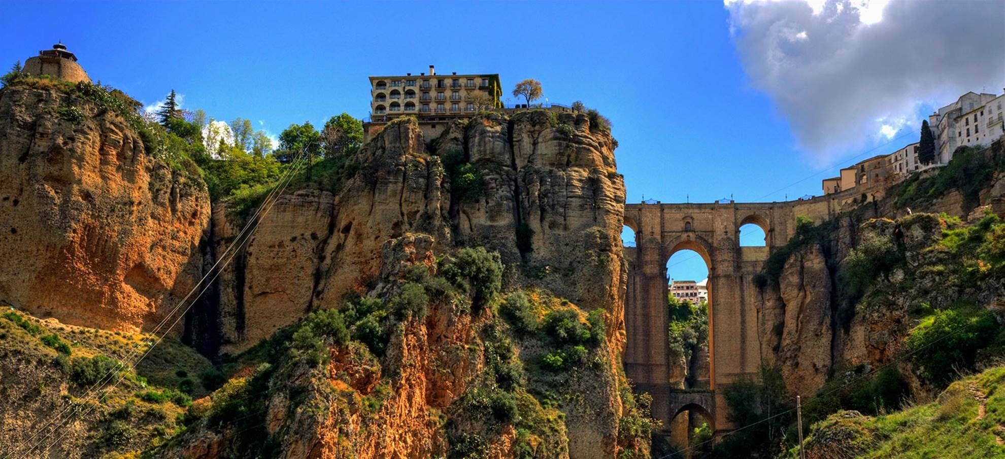Ronda de ziel van Andalusië (SVQRONAN)