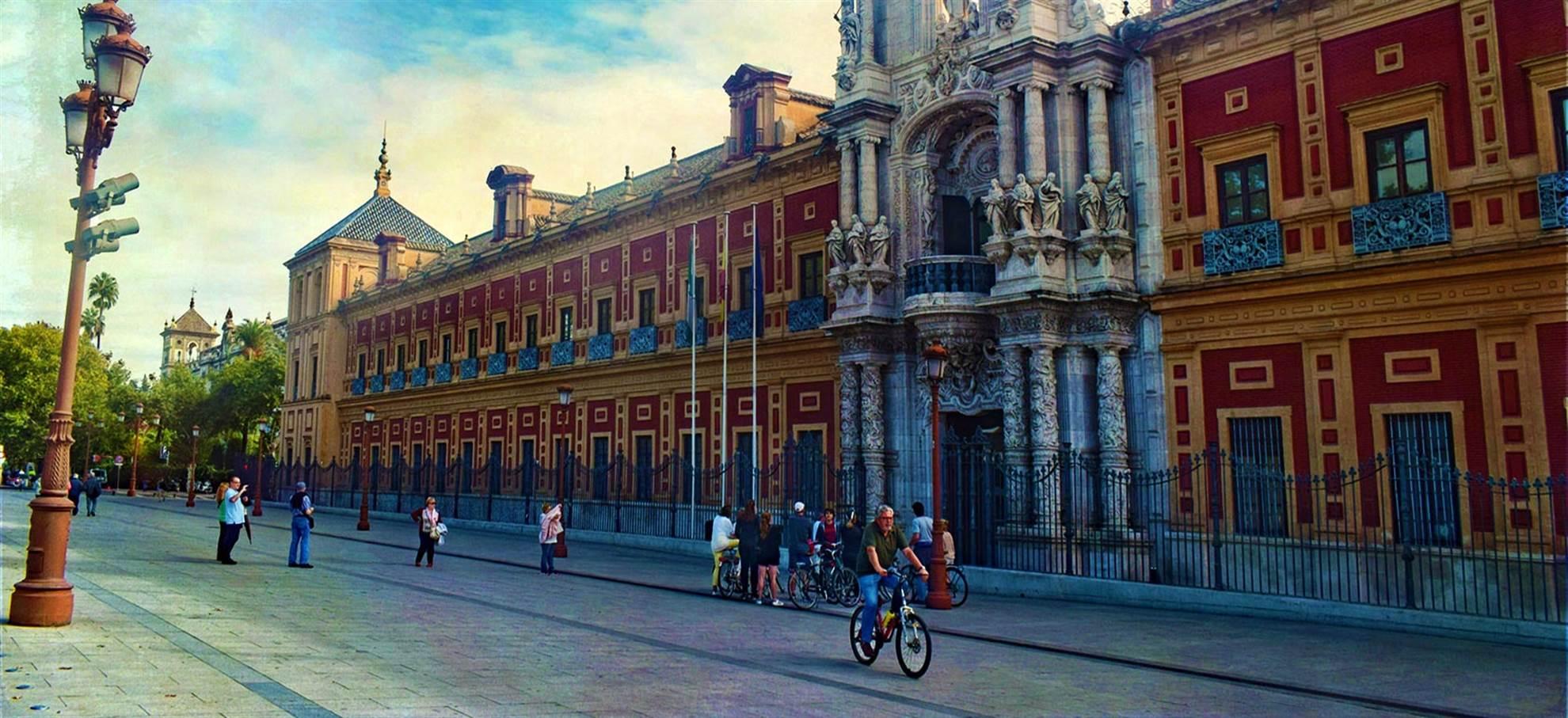 Typisch für Sevilla