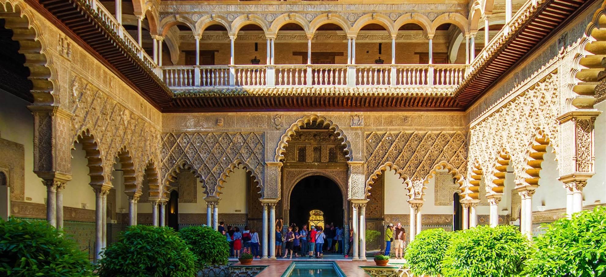 Visite guidée dans L'Alcazar de Séville (Guide français)