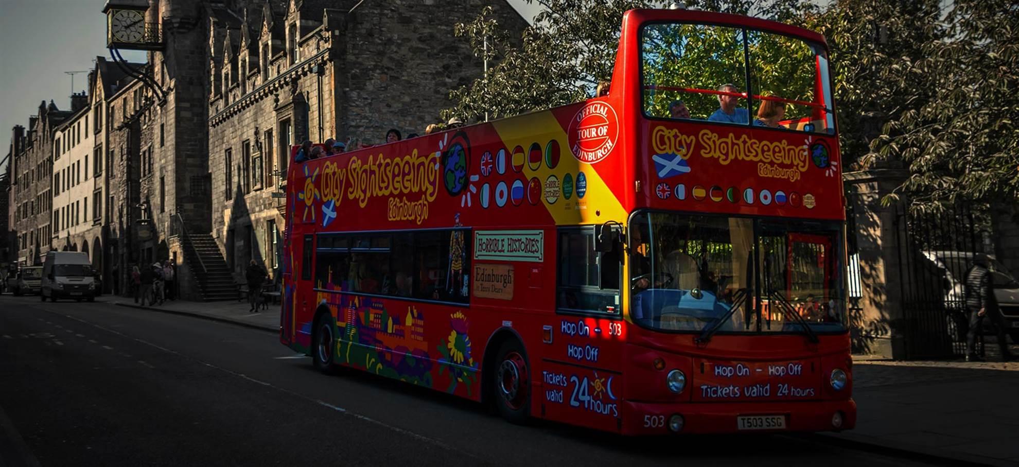 Edinburgh Hop on Hop off Bus