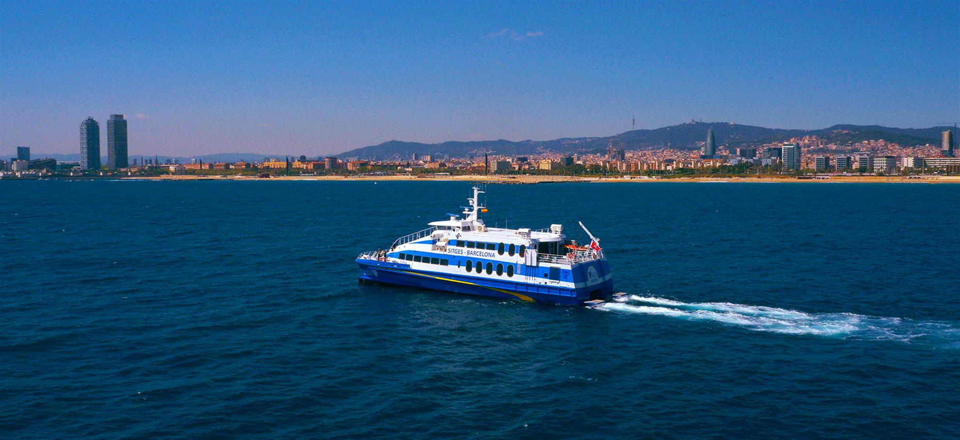 ¡Billetes para el Ferry de Barcelona a Sitges!