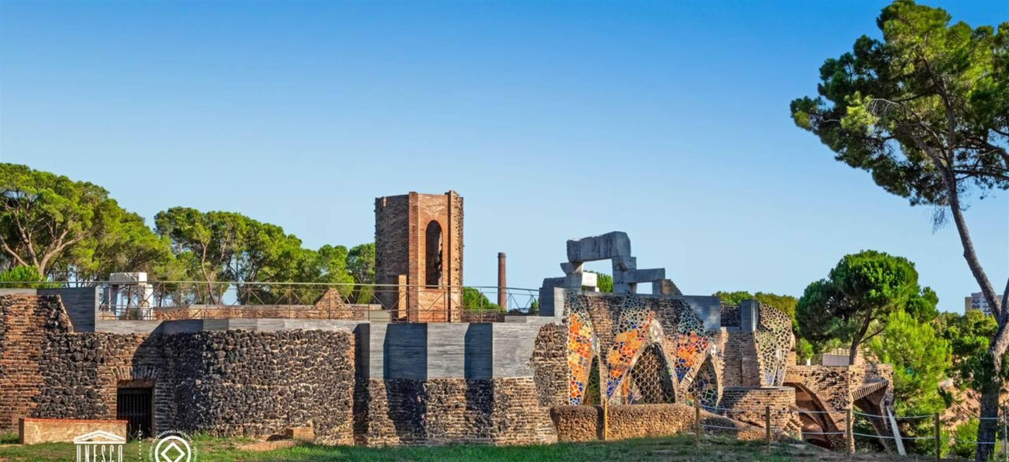 Cripta de Gaudi em Colonia Güell: visita + audioguia