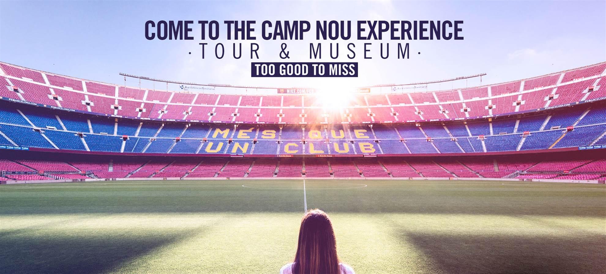 Návštěva stadionu FC Barcelona