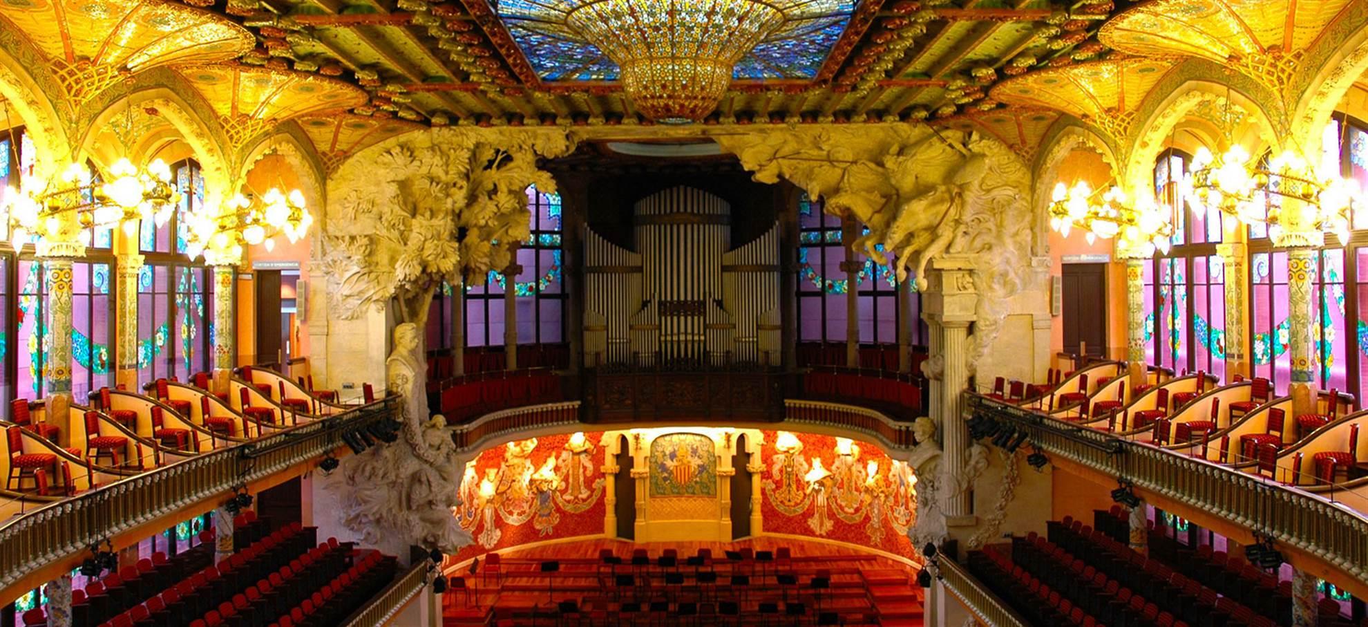 Pałac Muzyki Katalońskiej