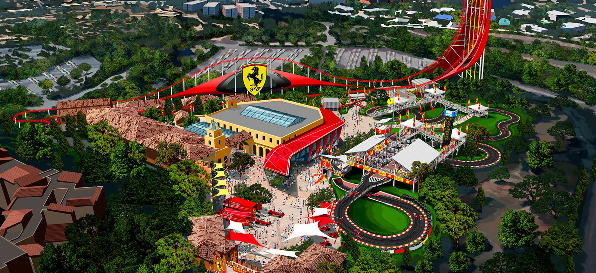 Port Aventura i Ferrari Land