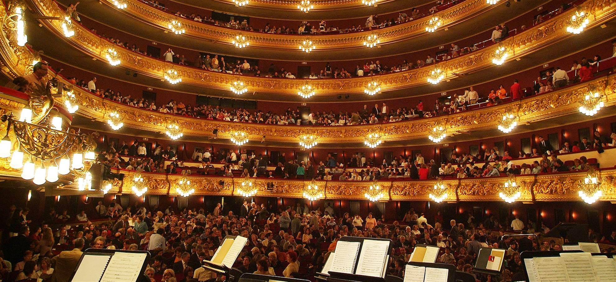 Liceu Theater (tour met gids)