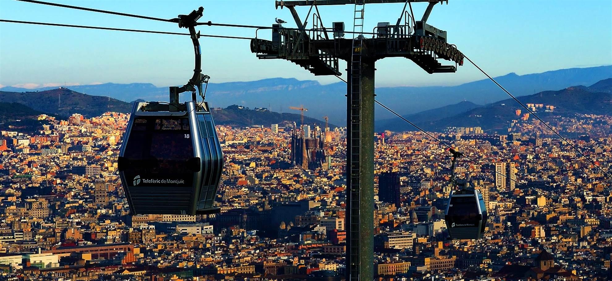 Cable Car Barcelona - Teleferic de Montjuic