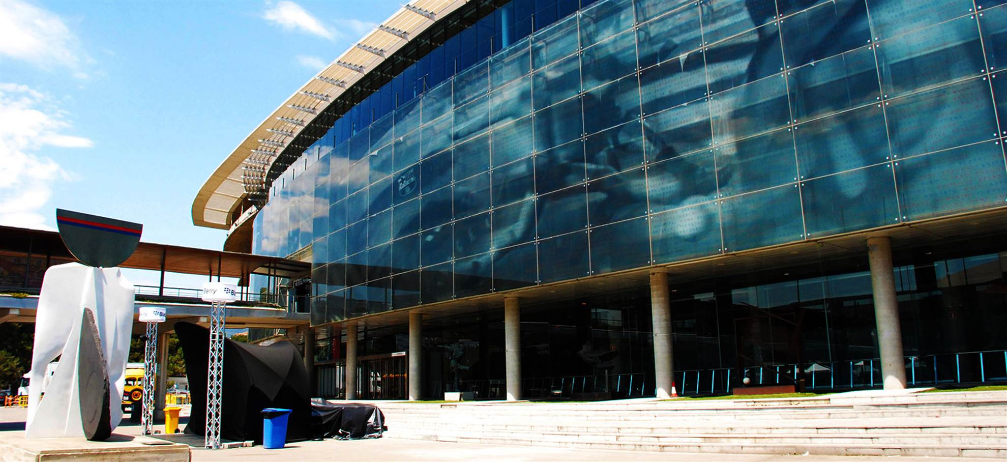 FC Barcelona Stadium mit Guide