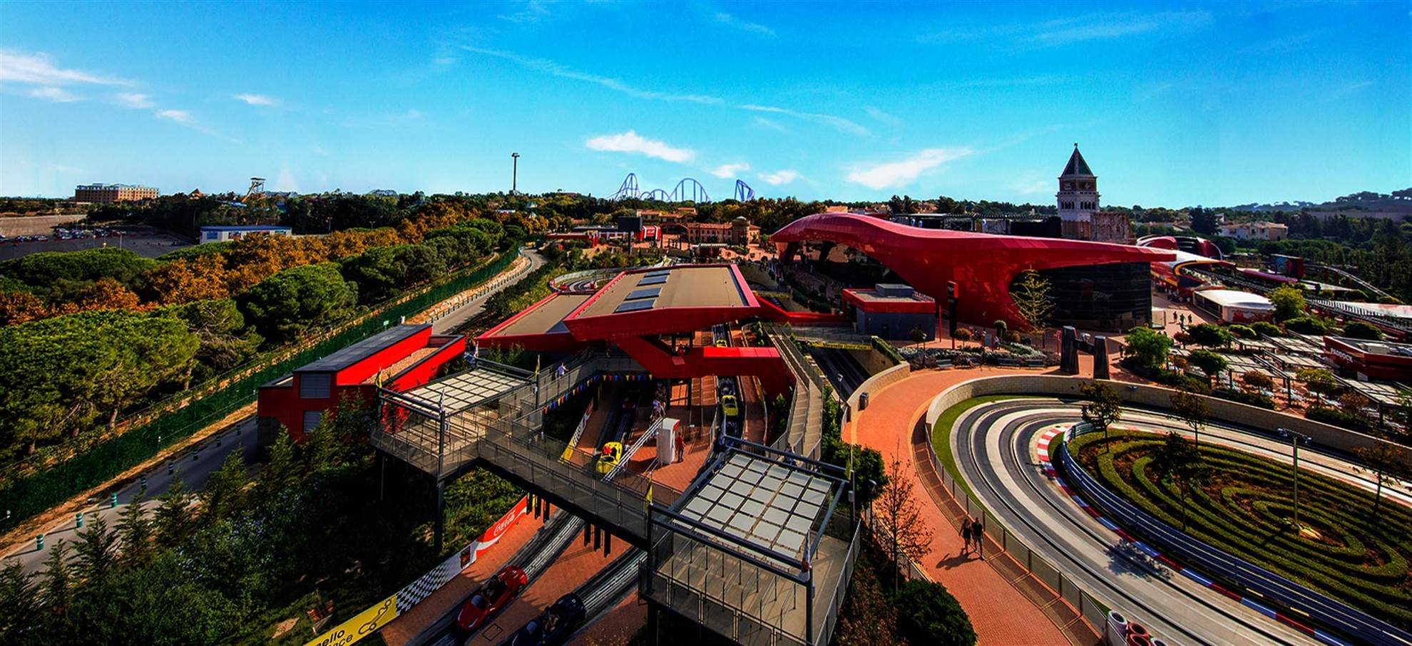 Ferrari Land + Train