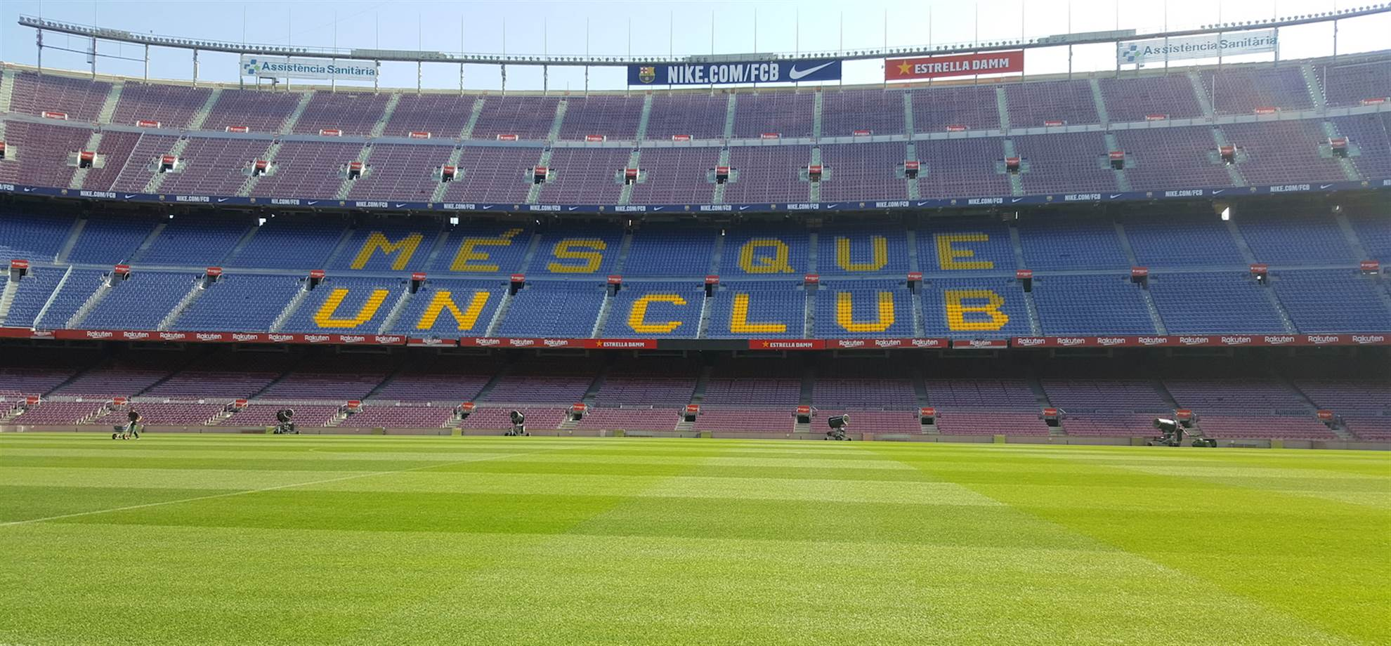 Camp Nou Private Tour