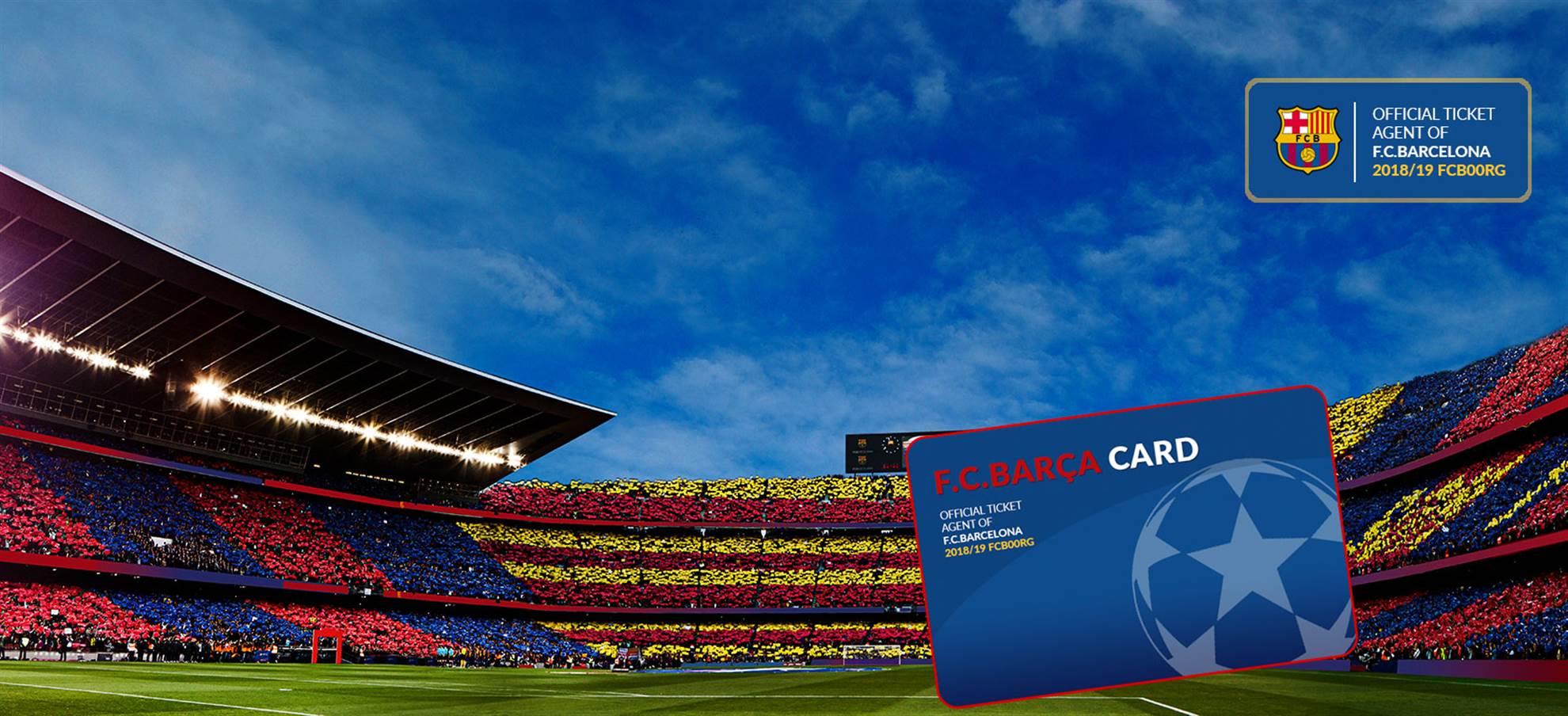 CARTÃO BARÇA 'Um dia de férias perfeito no Camp Nou'