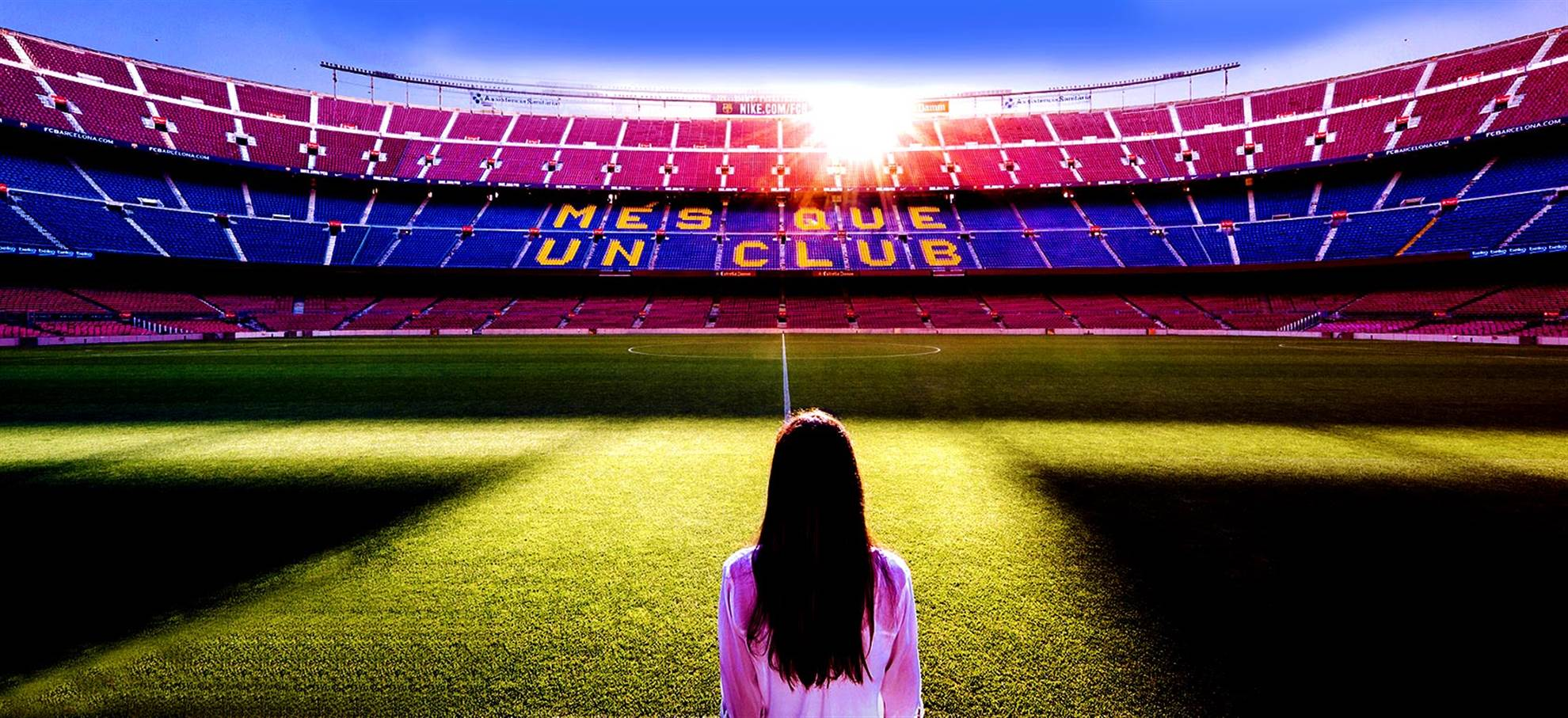 Visite du Camp nou plus