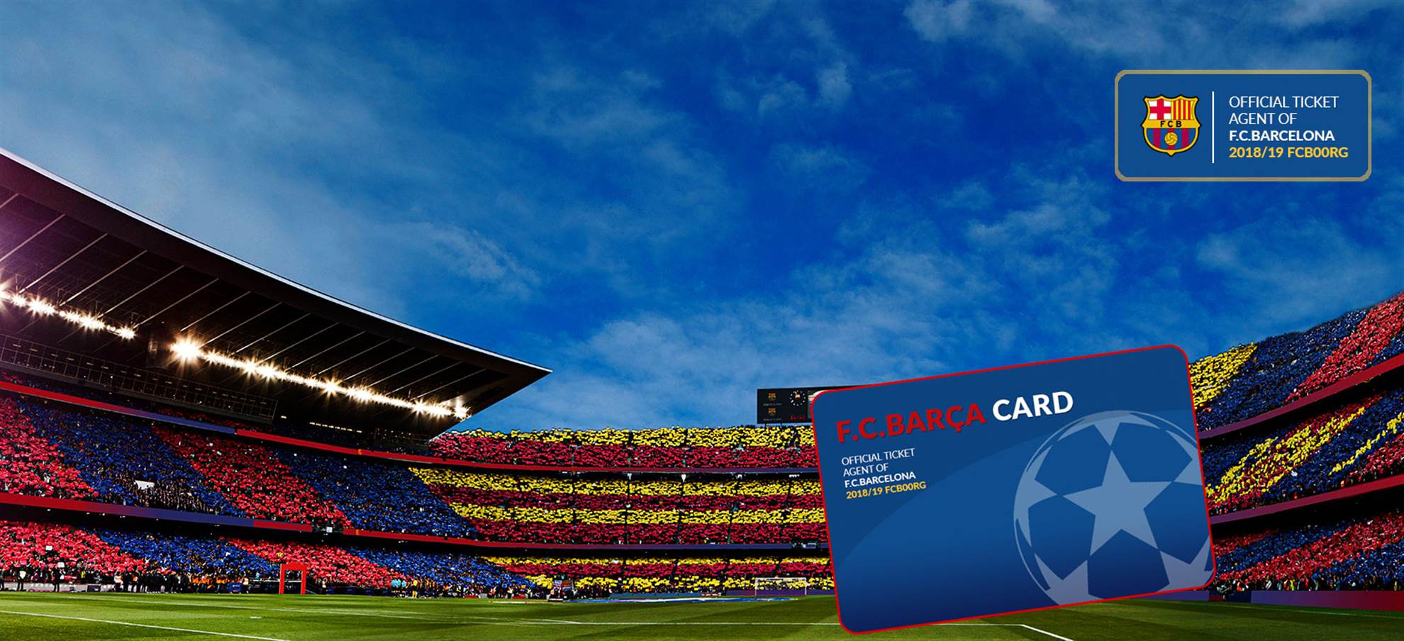 FC BARÇA CARD