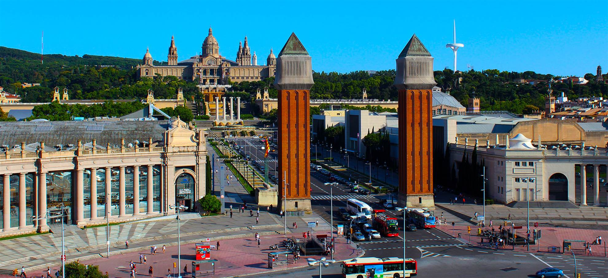 The Montjuïc Guided Walking Tour