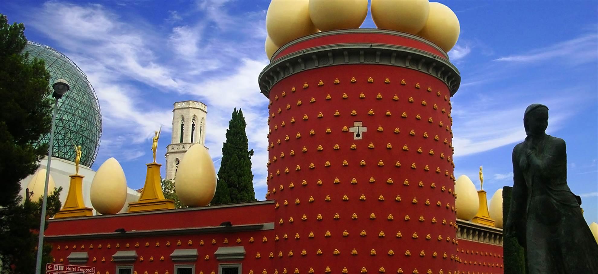 Figueres, Dali és Girona