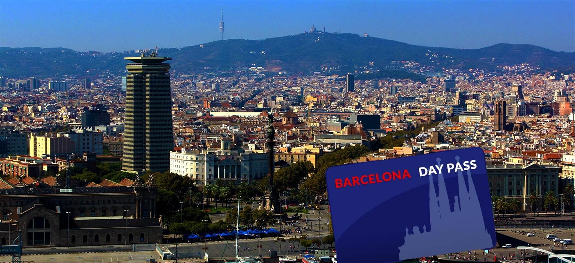 Barcelona Dag Pass vanaf de haven van Barcelona