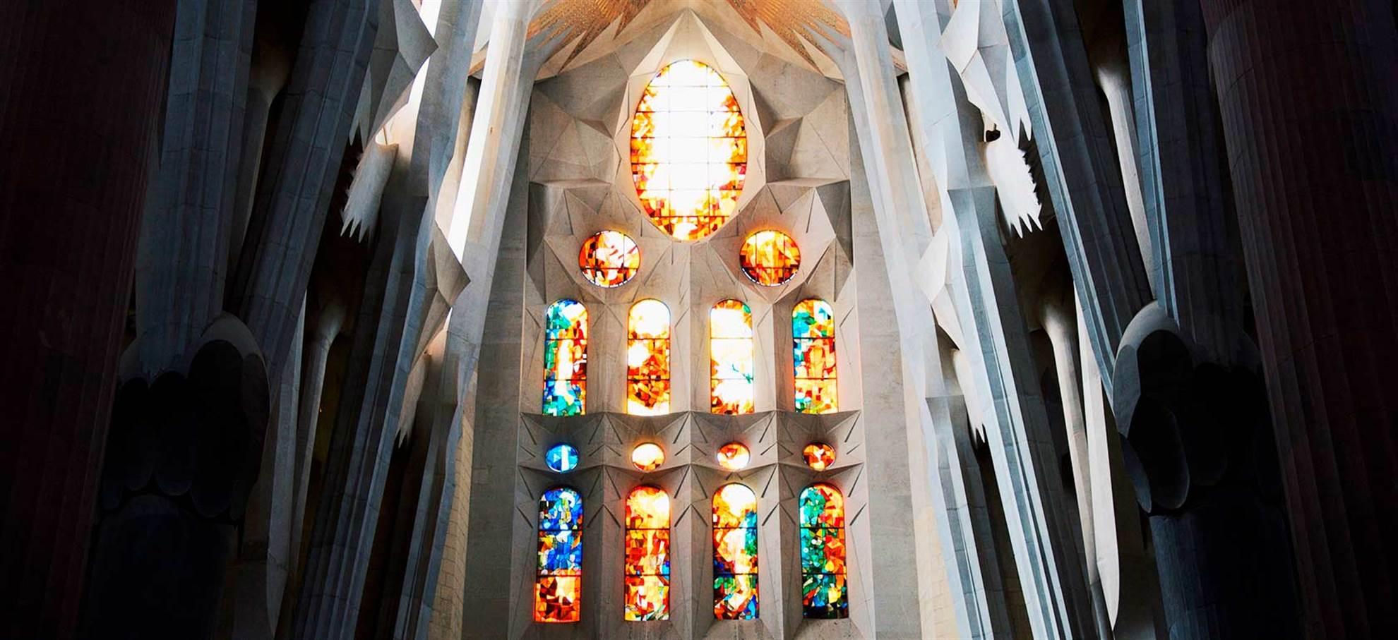 Guidad tur av La Sagrada Familia, slipp kön!
